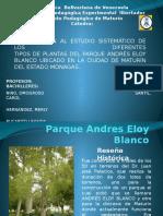 plantas en Parque Andres Eloy Blanco.pptx