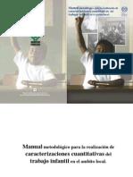 Manual metodológico para la realización de caracterizaciones cuantitativas del TI en el ámbito local