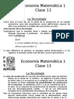 Economía Matemática 1_Clase 13_TecnoDef