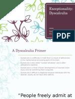 dyscalculia presentation