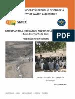 Ribb Reservoir Resettlement Action Plan(RAP)