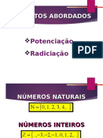 Potenciação e Radiciação