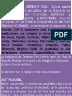 Derecho Civil i Cusam
