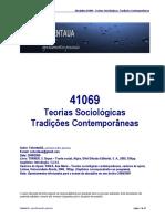 41069 - Teorias Sociológicas - Tradições Contemporânes - (Apontamentos) SebentaUA.pdf