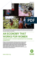 An Economy that Works for Women: Achieving women's economic empowerment in an increasingly unequal world