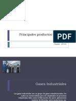Principales Productos Químicos Básicos