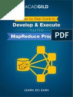 Develop & Execute Your First MapReduce Program