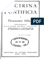 BAC Doctrina Pontificia 1-Documentos Biblicos