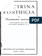 BAC Doctrina Pontificia 4-Documentos Marianos