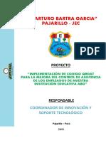 Jec-proyecto Cist-Arturo Bartra García