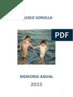Museosorolla Memoria 2015
