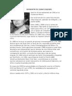 Biografía de Laura Esquivel