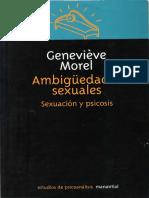Ambigüedades sexuales -Sexuación y psicosis -Geneviève Morel.pdf.pdf