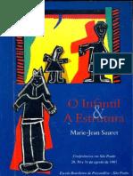 O infantil e a estrutura - Marie-Jean Sauret.pdf