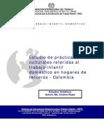 Estudio de prácticas culturales referidas al TI doméstico en hogares de terceros - Colombia