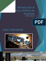 Introducción Al Bloomberg y Análisis de Empresas