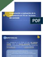 Programación y evaluación competencia TIC en áreas del currículum (I)_Miguel Villalaín