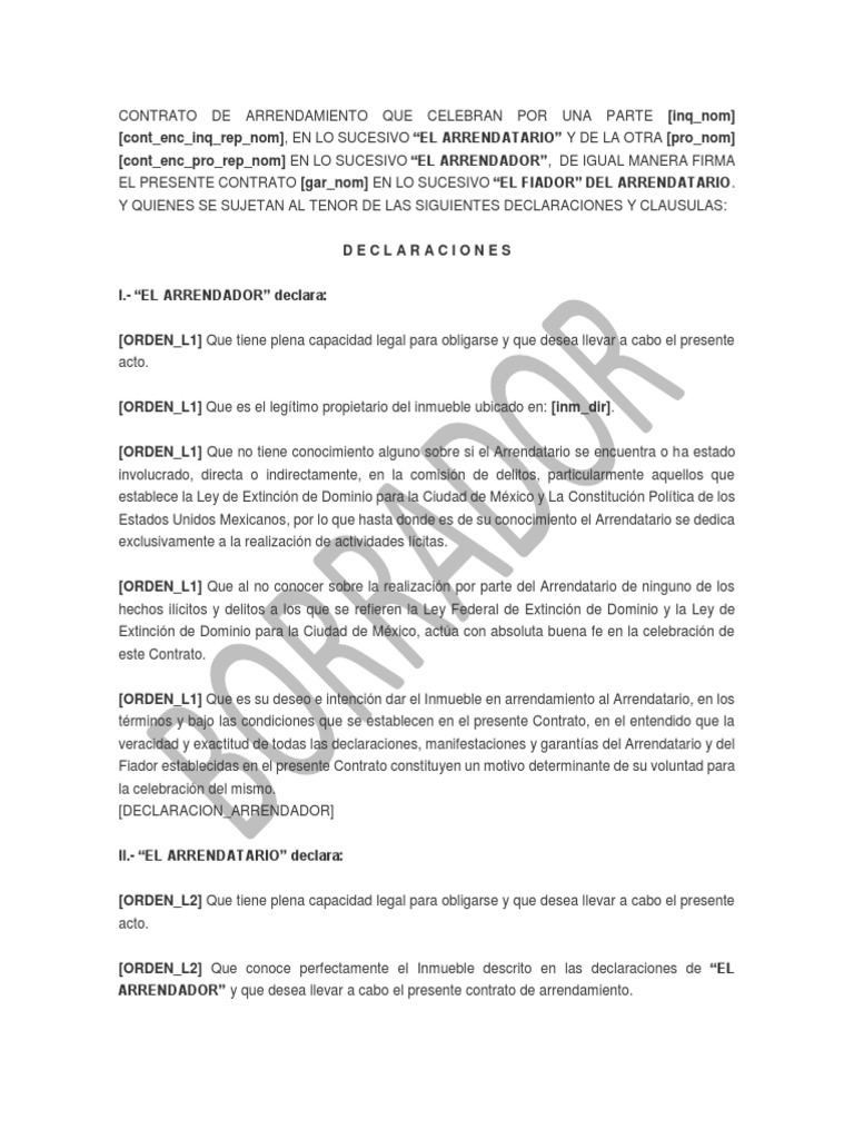 Contrato Cdmx Fiador