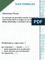 2. Gramáticas Formales