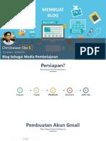 2. Pembuatan Blog