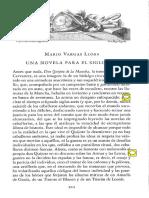 Mario Vargas Llosa Una Novela Para El Siglo XXI