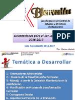 1era SOCIALIZACION ORIENTACIONES MINISTERIALES  Y 1er lapso 2016-2017 .pdf