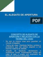 Dr. Rodolfo Socla - Alegato de Apertura