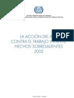 La acción del IPEC contra el trabajo infantil. Hechos sobresalientes 2002. Ene 2003