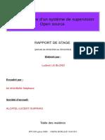 Rapport de Stage Nagios