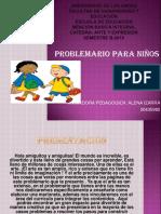 Problemario Para Niños