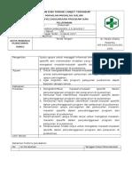 1.2.5.3 SOP Kajian Dan Tindak Lanjut Terhadap Masalah-Masalah Spesifik Dalam Penyelenggaraan Program Dan Pelayanan