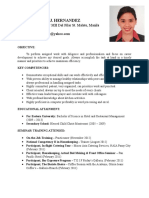 Jenica Updated Resume