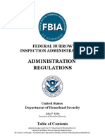 fbia administration regulations