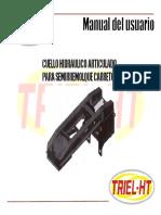 Manual Del Usuario Cuello Hidraulico - Triel HT