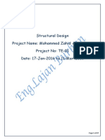 TE 01 Muhamad Zahid Structural Design