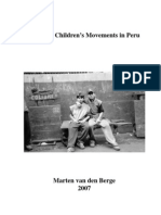 Working Children's Movements in Peru