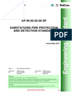 Substation Fire Protection and Detection Standard