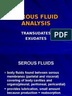 7. Serous Fluids
