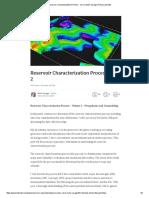 Reservoir Characterization Process - Vol 2