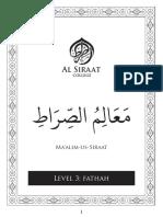 Ma'Alim Us Siraat Level 03