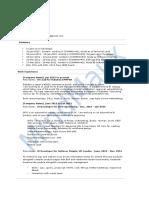 Node.js Sample Resume 1