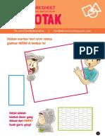 Bentuk Dasar - KOTAK - Worksheet