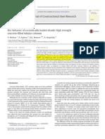 Fire Behavior of Eccentrically Loaded Slender High Strength Concrete-filled Tubular Columns