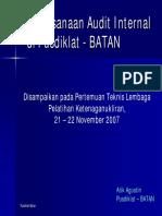 P6 Audit Internal