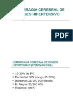 Hemorragia Cerebral Hipertensiva