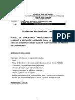 296337 - Cancha Polifuncional en Parque Los Fogones