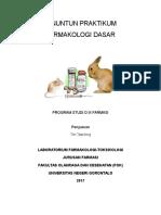 Penuntun Praktikum Farmakologi Dasar