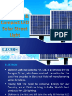 Solar LED Street Light_ver_2.0