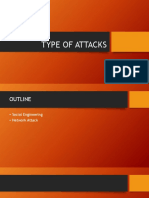 6. Type of Attacks