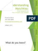 Hotchkiss Update 2015